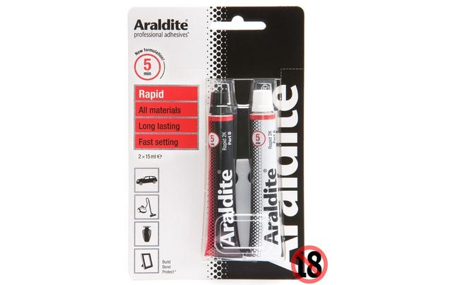 araldite 5 minute rapid
