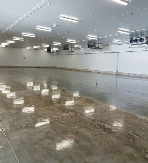 DPM epoxy primer applied to new concrete